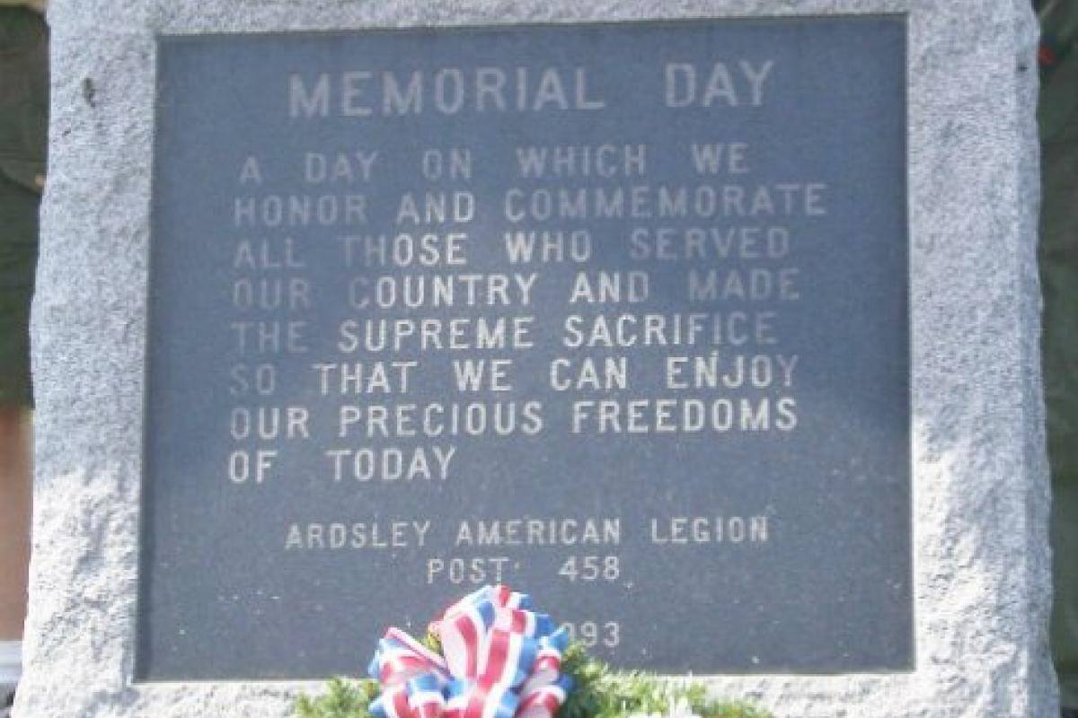 Ardsley Memorial Day Services