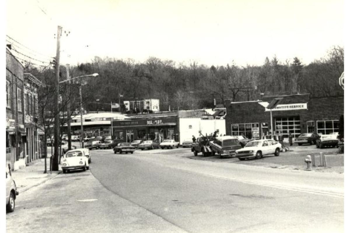 Village Square Circa 1970s